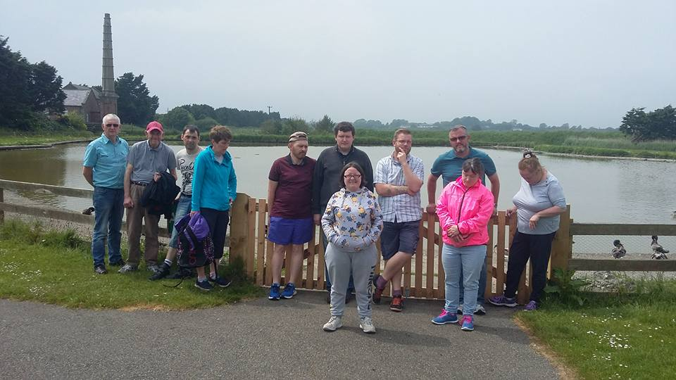 Group at Wildlife Reserve